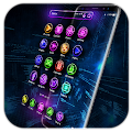 3D Neon Theme Launcher for 2017 APK
