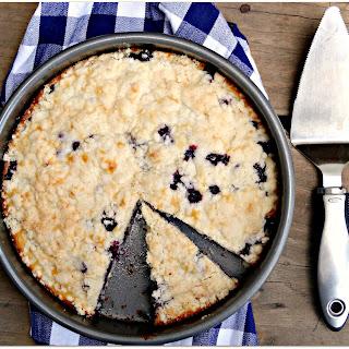 Blueberry Cream Cheese Coffeecake.