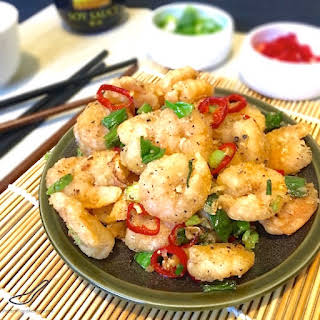 Salt and Pepper Shrimp.