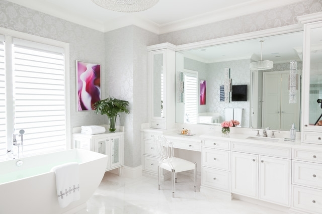 Better lighting and organization are essential to cutting down on the time it takes to get ready!