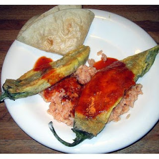 Chiles Rellenos With Sauce