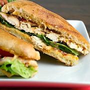 Chipotle Chicken Club Hot Ciabatta Sandwich