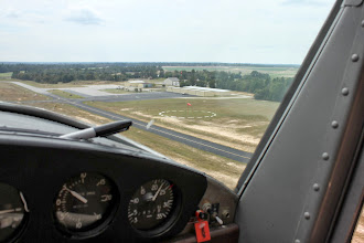 Photo: Climbing out at 500' / minute