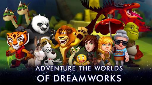 Code Triche DreamWorks Universe of Legends APK MOD (Astuce) screenshots 1