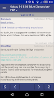 Screenshot of whirly - the WP forum reader