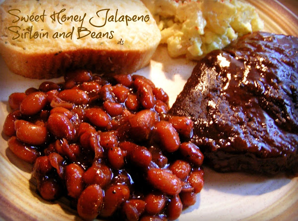 Sweet Honey Jalapeno Sirloin And Beans Recipe