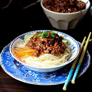 Zhajiangmian—Minced Pork Noodles