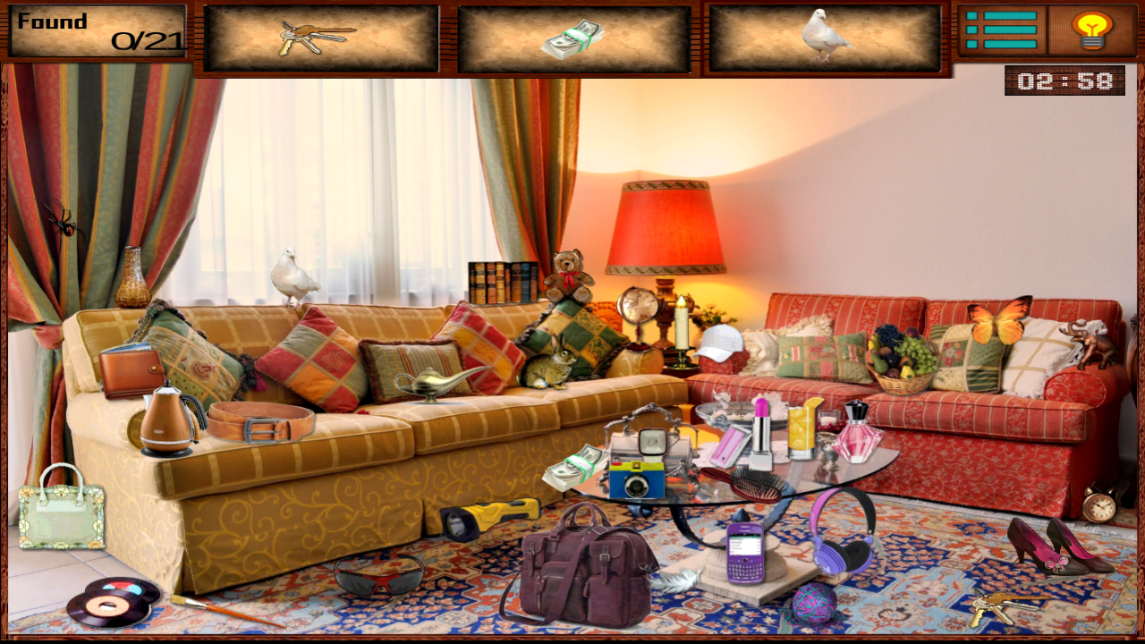Hidden objects living room android apps on google play for Living room 94 game