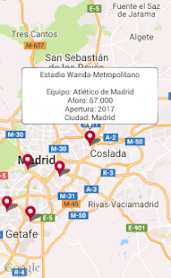 Estadios de fútbol Screenshot