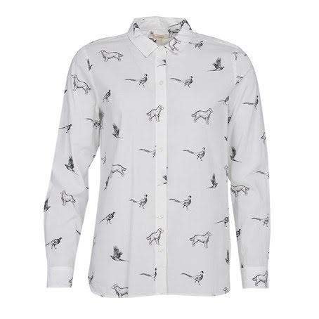 Barbour Shirt Dog Print