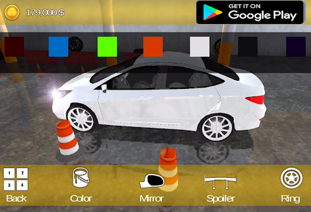 City Taxi 3D:Crazy Taxi Driving Parking 3D - náhled