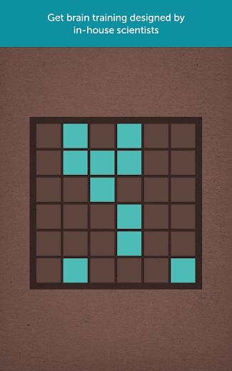 Screenshot 8 for Lumosity's Android app'