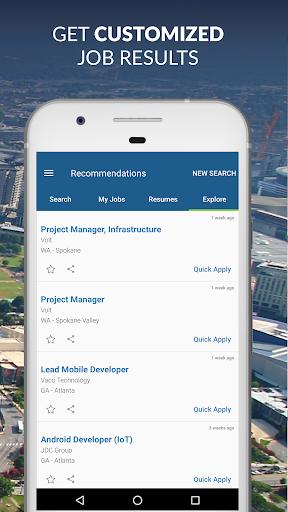 CareerBuilder: Find A Job & Job Opportunities  screenshots 5