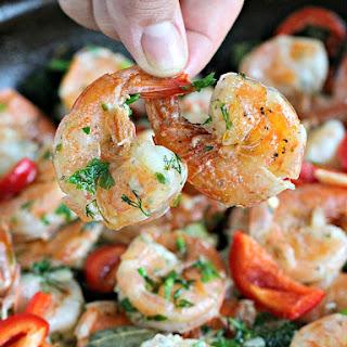 Butter Garlic Pepper Shrimp Ready in 30 Minutes