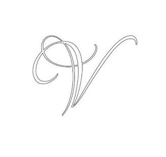 Kaligrafické písmo - náhled