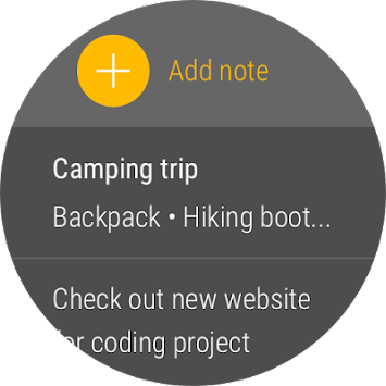 Google Keep APK screenshot thumbnail 10