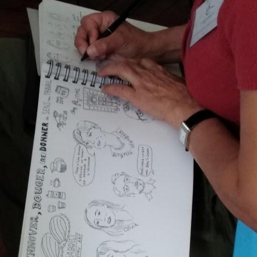 l'art du sketchnote sur BFMTV