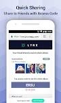 screenshot of Lynx Privacy-Hide photo/video, Free 5GB Backup