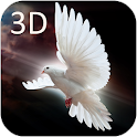 Pomba 3D Live Wallpaper icon