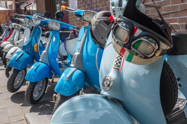 eletrické motorky, retro motorky, typy motoriek
