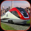 Euro Train Driving Cargo 3D icon