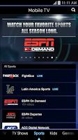 Screenshot of Mobile TV