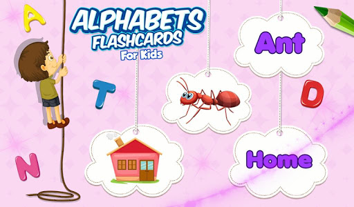 Alphabets Flashcards For Kids v1.0.0