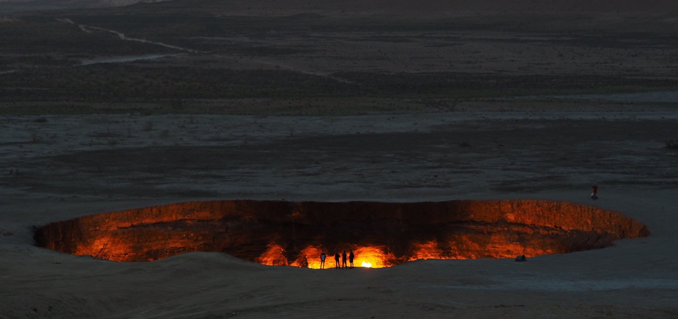 Turkmenistan's Door to Hell