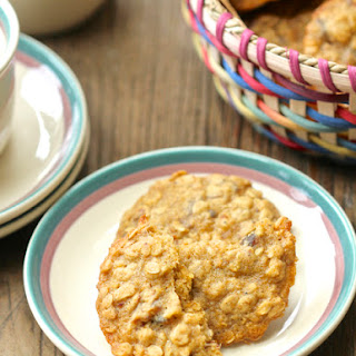 Toasted Oatmeal, Date, and Cardamom Cookies.