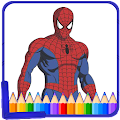 How to color Spider-man