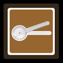 관절 각도 측정 icon