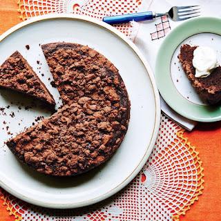 Chocolate-Rye Crumb Cake
