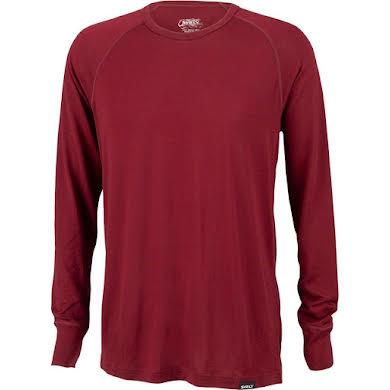 Surly Merino Raglan T-Shirt - Cabernet