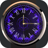 Free Blue Watch Face