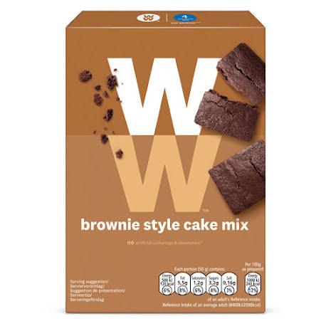 Bakmix för chokladbrownie, 200g
