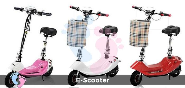 Xe điện E-Scooter mini gấp gọn 1