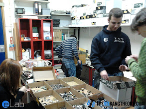 Photo: Sorting components