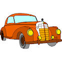 Classic Cars Color by Number: Glitter, Crayon Book icon