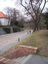 Photo: Cesta k Cihelné bráně byla uměle prokopána