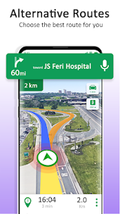 GPS Maps Navigation - Driving Route Planner Free Screenshot