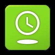 Overlay Clock - Lime