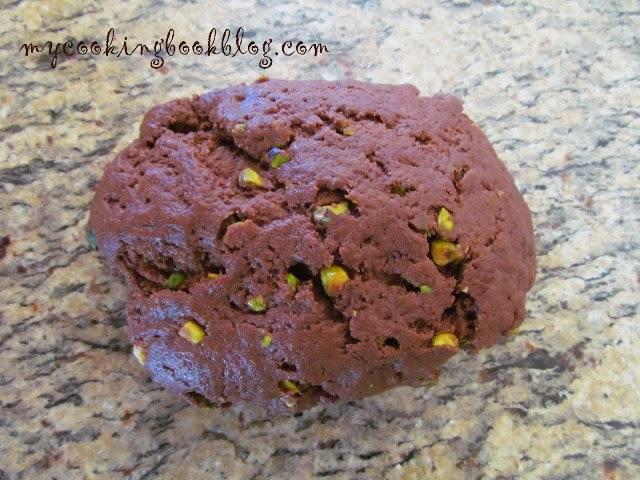 Шоколадови бисквити с шамфъстък, зехтин и портокал (постни)