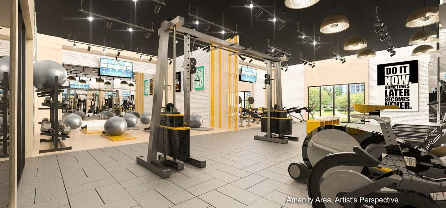 Gold Residences, Paranaque fitness gym