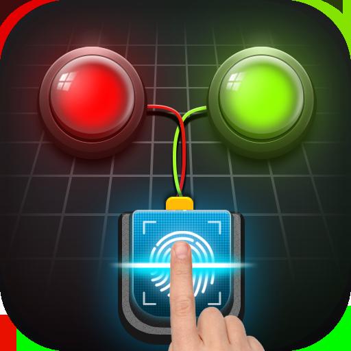 Lie Detector Test Prank - Fingerprint Scanner Icon