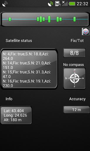 GPS卫星测试状态