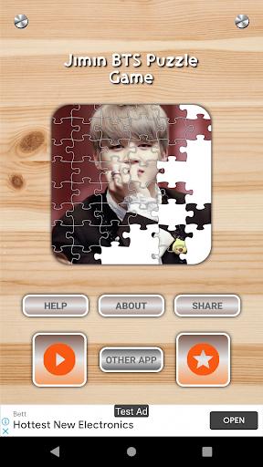 Jimin BTS Game Puzzle And Wallpapers HD 1.3 screenshots 2
