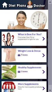 Diet Plans Doctor- screenshot thumbnail