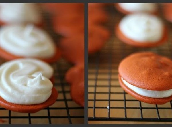 Fill each with your cream cheese filing, using a snipped ziploc bag to fill...