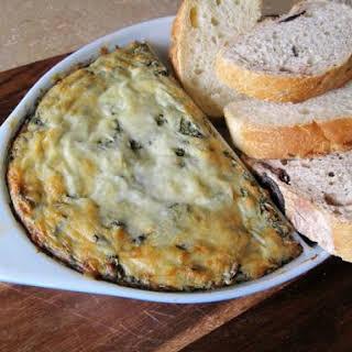 Hot N' Cheesy Spinach & Artichoke Dip.
