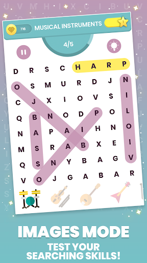 Word Search Connect Letters for free 1 6 Cheat MOD APK